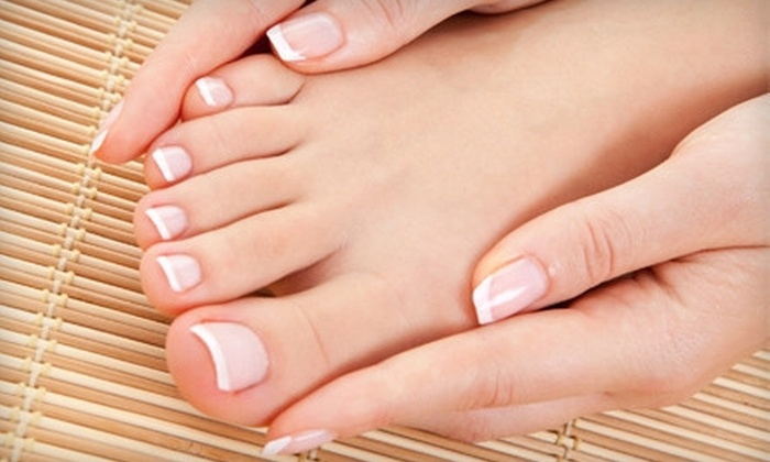 4Ever Nails & Salon - North End: Luxury Manicure and Deluxe Pedicure with Optional Shellac at 4Ever Nails & Salon (Up to 51% Off)