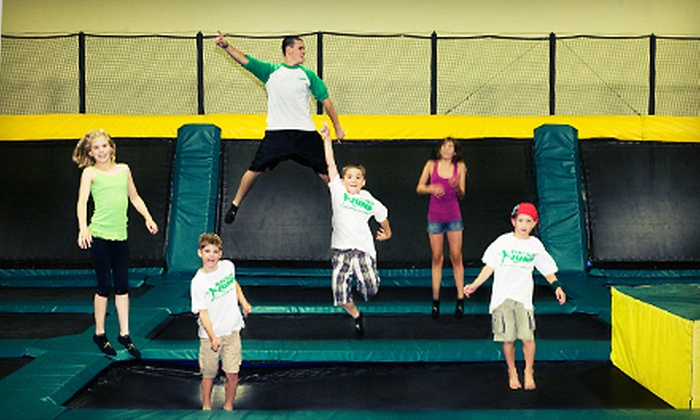 Rockin' Jump (San Jose) - San Jose: One Hour of Trampoline Time for Two, Four, or Six at Rockin' Jump (Up to 60% Off)