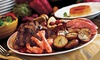 Le Village Buffet at Paris Las Vegas - Paris Las Vegas: Lunch or Dinner Buffet for Two with Bottle of Wine at Le Village Buffet at Paris Las Vegas (Up to Half Off)