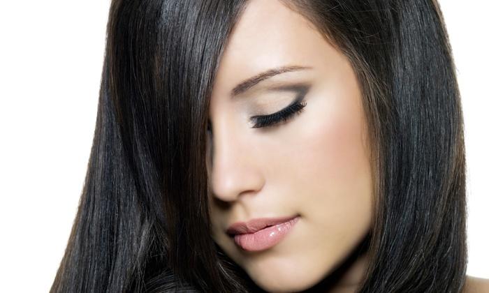 Amitie Hair Studio - Palisades Park: $99 for One Brazilian Keratin Treatment at Amitie Hair Studio ($300 Value)