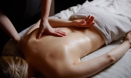 Full Body Massage with Steam Bath