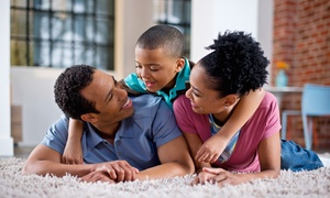 Curtis E Carpet Cleaning: Carpet Cleaning at Curtis-E Carpet Cleaning (Up to 73% Off). Two Options Available.