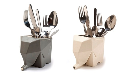 Trend Matters Elephant Cutlery Drainer