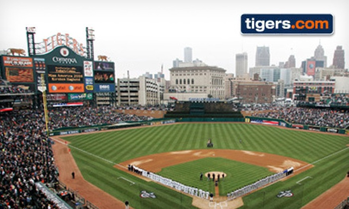 Detroit Tigers - Comerica Park: $115 for a Detroit Tigers ALCS Playoff Game at Comerica Park on October 17 or 18 with $30 Credit to MLB.com/shop