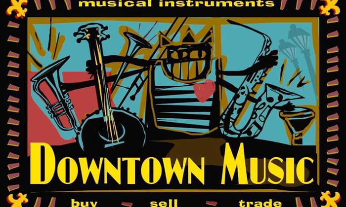 Downtown Music - French Quarter: A Private Music Lesson from Downtown Music (50% Off)