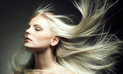 image for Haircut Package with Optional <strong>Color</strong> or Partial or Full <strong>Highlights</strong> at A Little Indulgence Salon and Spa (Up to 62% Off)