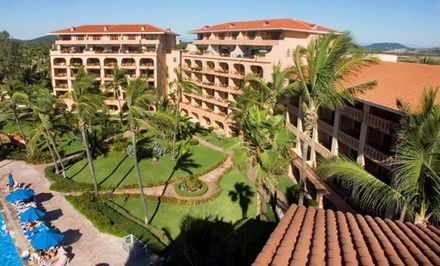 groupon daily deal - 3- or 5-Night Stay for Four with Dining Credit at Torres Mazatlan in Mazatlan, Mexico