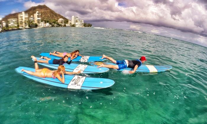 Surfcaddy llc - Waikiki Beach: Up to 51% Off Surfing Lessons at Surfcaddy llc