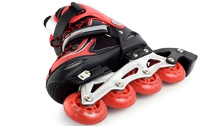 The Rinks : Inline-Skating Outing for Two or Four with Skate Rental at The Rinks (50% Off)