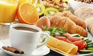"""Endlos Restaurant Cafe: """"Schoko-Etagen-Frühstück"""" für Zwei oder Vier inkl. Prosecco im Endlos Restaurant Café in Prenzl'berg ab 15,90 €"""