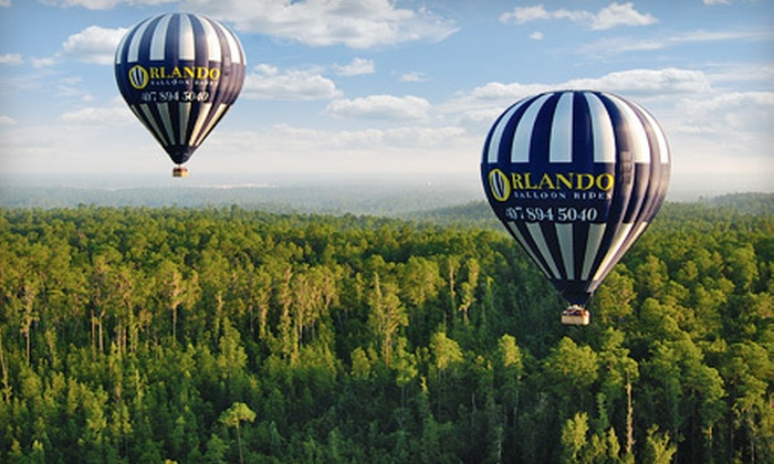 Orlando Balloon Rides - Kissimmee: Sunrise Balloon Ride with Breakfast and Champagne for One or Two from Orlando Balloon Rides in Kissimmee (Up to 43% Off)
