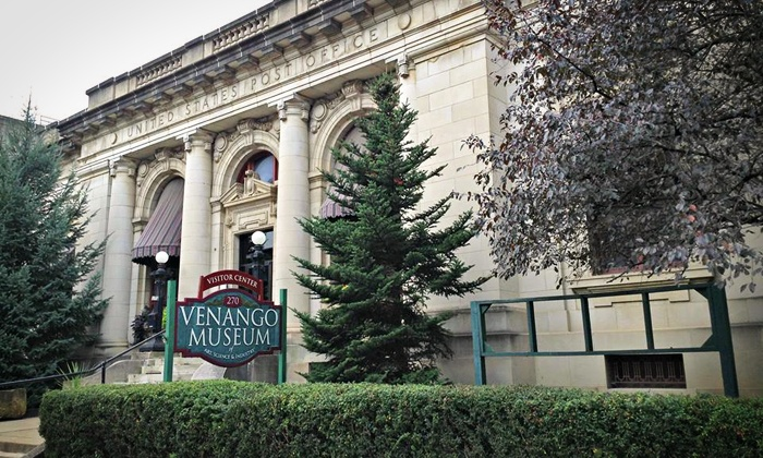 Venango Museum - Oil City: Visit for Two or Four or a Family Membership at Venango Museum (Up to 53% Off)