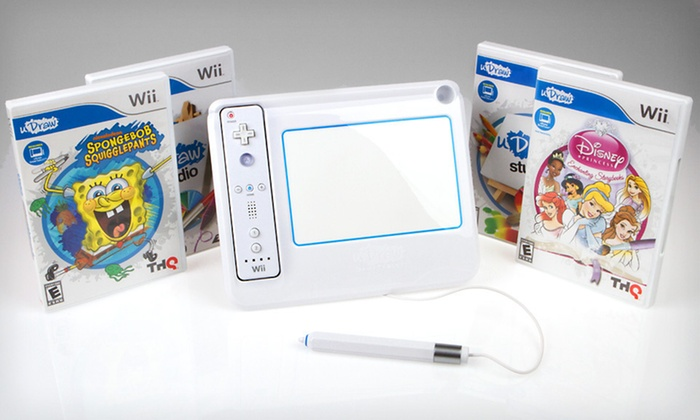 uDraw GameTablet Bundles for Wii: $29 for a Disney Princess or SpongeBob uDraw GameTablet Bundle for Wii ($79.99 List Price). Free Shipping and Returns.