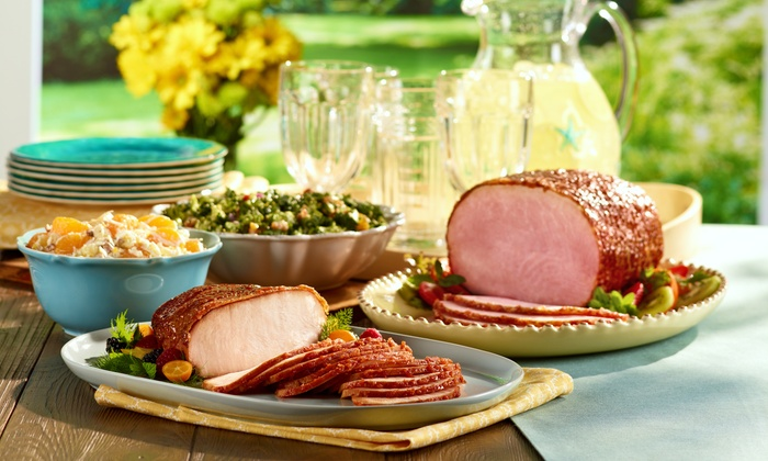 Honeybaked Ham - Bloomington: Boneless Half Ham, Platters and Signature Products, or Dinner for Up to 10 at HoneyBaked Ham (Up to 49% Off)