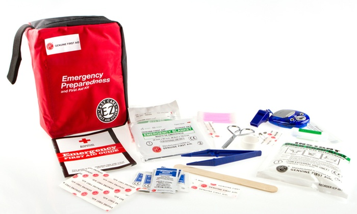 Genuine First Aid Kit : 303-, 404-, or 1,000-Piece Genuine First Aid Kit.