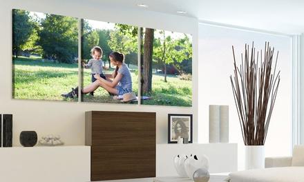 Trittico tele personalizzabili a 29,99euro