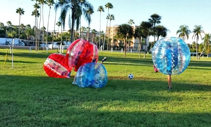 Tampa Bay Bubble Ball Soccer  - Multiple Locations: Tampa Bay Bubble Ball Soccer Game for One or Two (Up to 30% Off)
