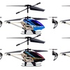 SJ-Series Gyro-Stabilized Crash-Resistant 3.5-Channel RC Helicopter