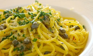 Caffe Riace: $25 for $40 Worth of Italian Food and Drinks, Valid Sunday Through Thursday at Caffe Riace