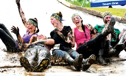 $39 for Obstacle-Course Mud Run for One from Mud Factor on October 4 ($80 Value)