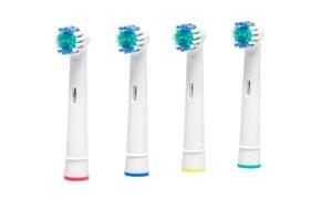 8 têtes de brosses à dents électriques compatibles Oral-B