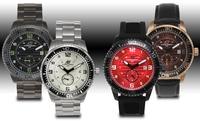 GROUPON: Aubert Frères Montagne Men's Watches Aubert Frères Montagne Men's Watches