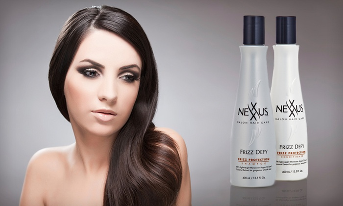 Nexxus Frizz Defy Haircare Duo: $14 for a Nexxus Frizz Defy Haircare Duo ($25.68 List Price)