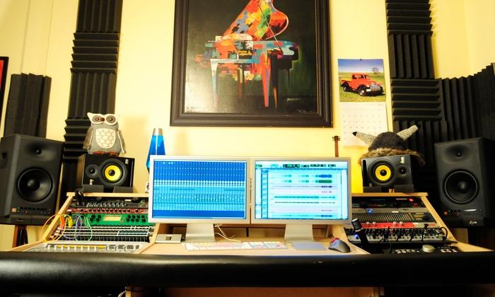 High Street Studios - Burlington: One Hour of In-Studio Recording from High Street Studios (50% Off)