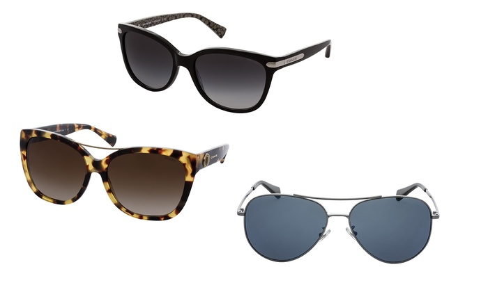 757d35f1d130 Coach Women's Sunglasses | Groupon