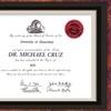 $100 Toward Custom Diploma Framing