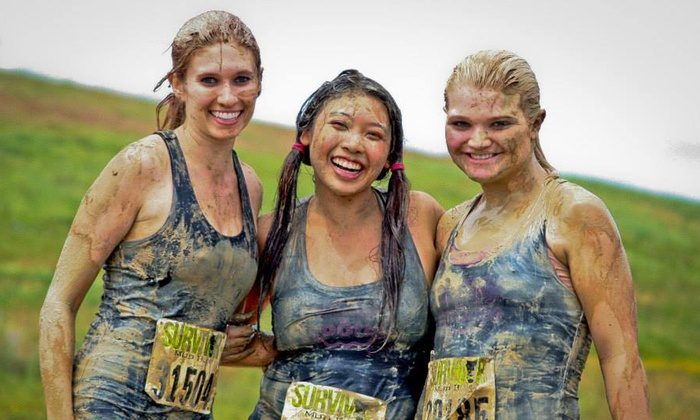 Survivor Mud Run - Storm Baseball Stadium: Survivor Mud Run 5K for One or Two on Saturday, September 20 (Up to 48% Off)