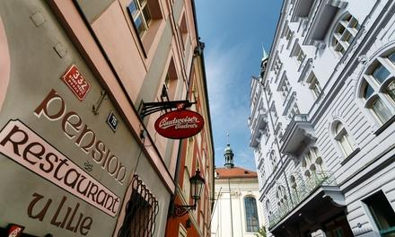 Praga: camera doppia con colazione o mezza pensione per 2 persone a 55€euro