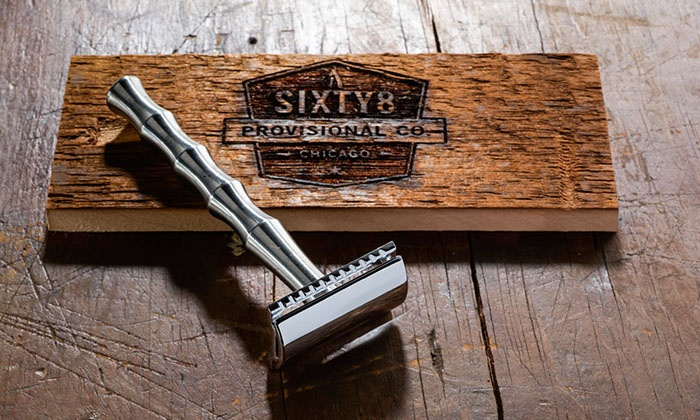 Joe's Barbershop Chicago - IN-STORE PICKUP: Shave Oil, Beard Oil, or Working Man Safety Razor by Sixty8 Provisional Co. In-Store Pickup at Joe's Barbershop Chicago