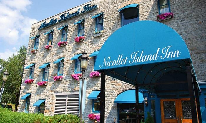 null - Minneapolis / St Paul: Stay at Nicollet Island Inn