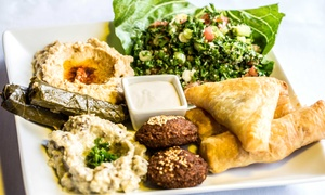 Tuscan Cafe & Bistro: Mediterranean BYOB Lunch or Dinner at Tuscan Cafe & Bistro (Up to 46% Off)