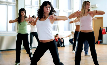6 or 12 Zumba Classes at Dance Center Chicago (Up to 54% Off)