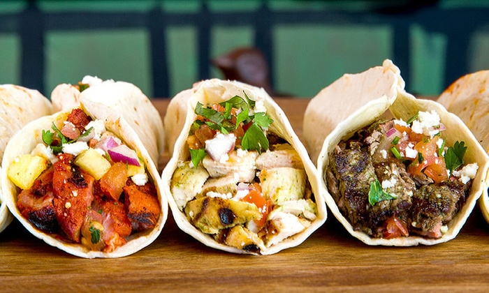 Brushfire Tacos - Thunderbird Crossing: $15 for Three Groupons, Each Good for $8 Worth of Tacos at Brushfire Tacos y Tapas ($24 Value)