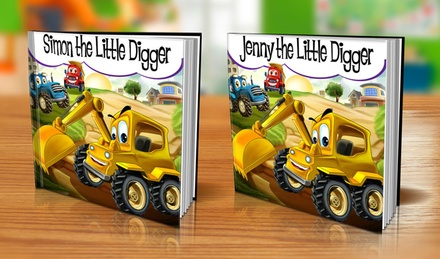 Custom Quot The Little Digger Quot Book Groupon Goods