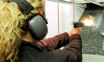 Basic or Premium Firing-Range Package for Two at Ultimate Defense Firing Range & Training Center (Up to48% Off)