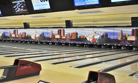 $39 for Three Hours of Bowling for Five People, Plus Snacks at Wayne Webb's Columbus Bowl ($99.95 Value)