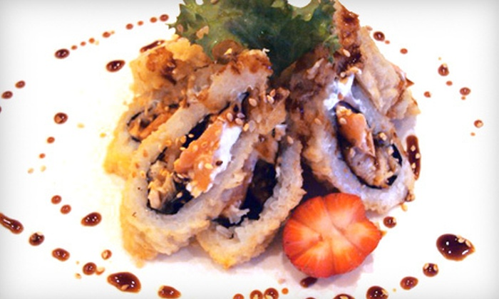 Umi Japanese Steak House & Sushi Bar - Boston Road: $20 for $40 Worth of Japanese Dinner Fare at Umi Japanese Steak House & Sushi Bar