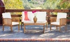 Beckley Four-Piece Outdoor Seating Set: Beckley Four-Piece Outdoor Seating Set