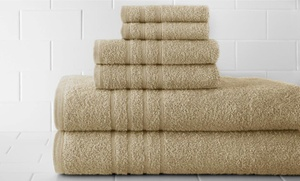 100% Egyptian Cotton 6-piece Towel Set