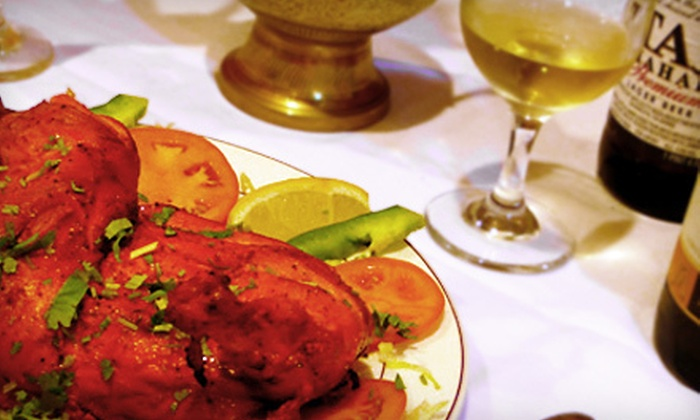 Mehak - Downtown - Penn Quarter - Chinatown: $25 for an Indian Meal with Entrees, Appetizer, Papadum, Bread, and Dessert for Two at Mehak (Up to $51 Value)