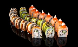 Dial my Sushi: Gourmet Sushi Platters for Delivery from R119 with Dial my Sushi (Up to 50% Off)