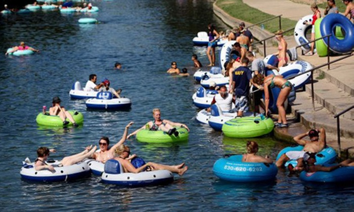 Comal Tubes - Downtown New Braunfels: River Tubing for Two or Four at Comal Tubes (Up to 60% Off)