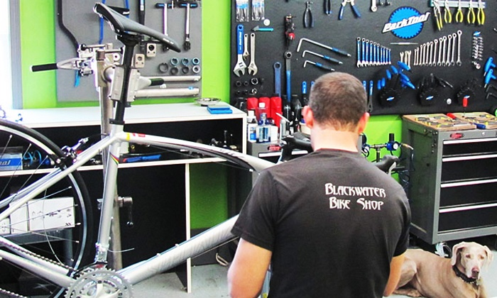 Blackwater Bike Shop - Forest: $24.99 for a Bike Tune-Up and Wheel True at Blackwater Bike Shop ($49.99 Value)