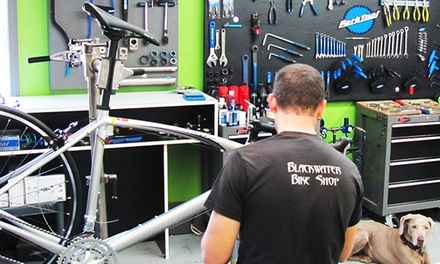 $24.99 for a Bike Tune-Up and Wheel True at Blackwater Bike Shop ($49.99 Value)