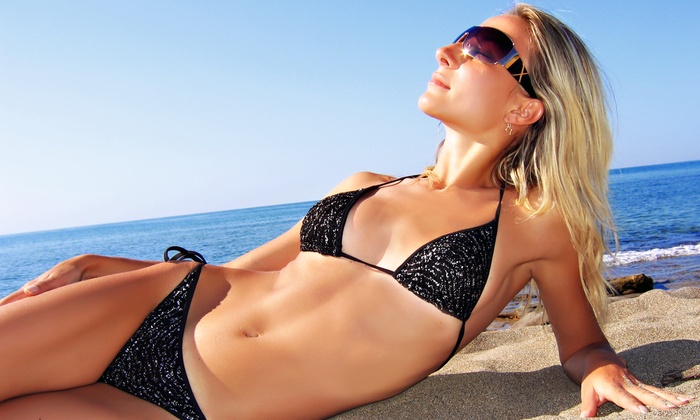 Desirable Glow - Lodi: One, Three, or Five Mobile Belloccio Spray Tans from Desirable Glow (65% Off)