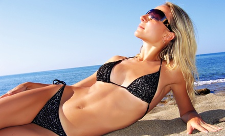 One, Three, or Five Mobile Belloccio Spray Tans from Desirable Glow (65% Off)